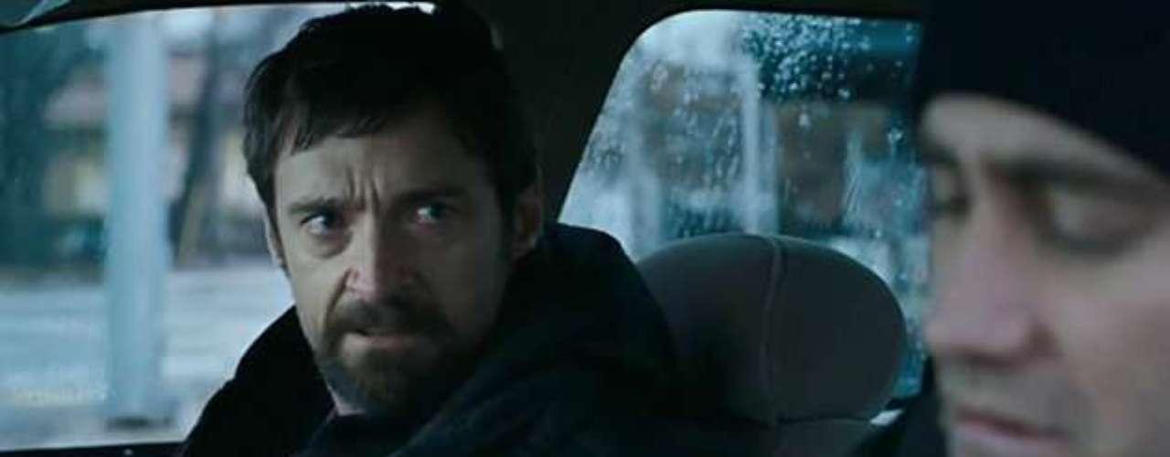 'Prisioners'. Jake Gyllenhaal y Hugh Jackman, quienestará en el Festival de San Sebastián para presentar la película y recoger el Premio Donostia, encabezan este drama claustrofóbicoen el una familia se enfrenta al secuestro de su hija menor.