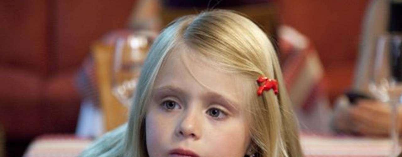 La pequeña Loreto Peralta, mexicana de 9 años de edad, da vida a 'Maggie', en esta cinta que no sólo trata el tema de la inmigración sino también de los diferentes tipos de familia que hay actualmente.