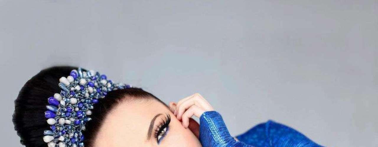 Miss Kosovo - Mirjeta Shala. Tiene 19 años de edad, mide 1.83 metros de estatura (6 ft 0 in)y reside en Vushtrri