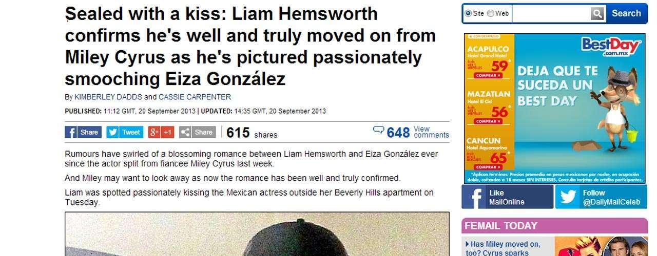 Aunque fueron captados apasionadamente ninguno de los dos ha confirmado si existe un amorío entre ellos.