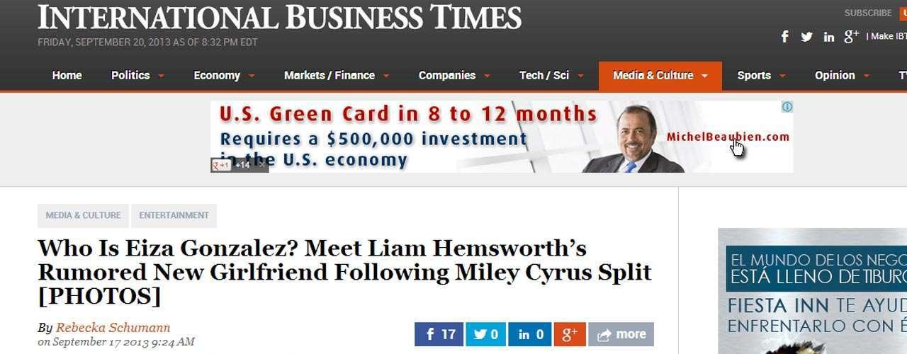 Han habido incluso comparaciones de la trayectoria de Cyrus con la de Eiza.