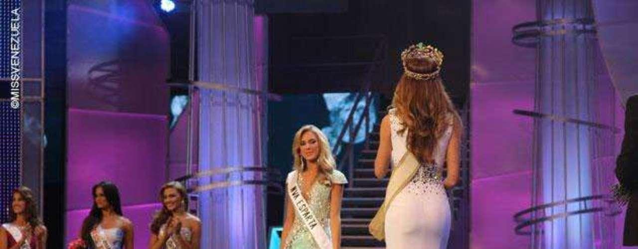 Miss Nueva Esparta, Gabriela María Graf-Stillfried Barreto fue la segunda finalista de la noche. Tiene 23 años de edad, mide 1.75 metros de estatura y su ciudad natal es Caracas