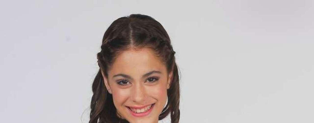 Tini Stoessel comenzó su carrera televisiva en la telenovela \