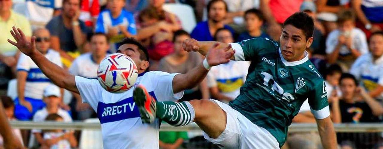 Universidad Católica vs Santiago Wanderers, 19:30 horas; San Carlos de Apoquindo.