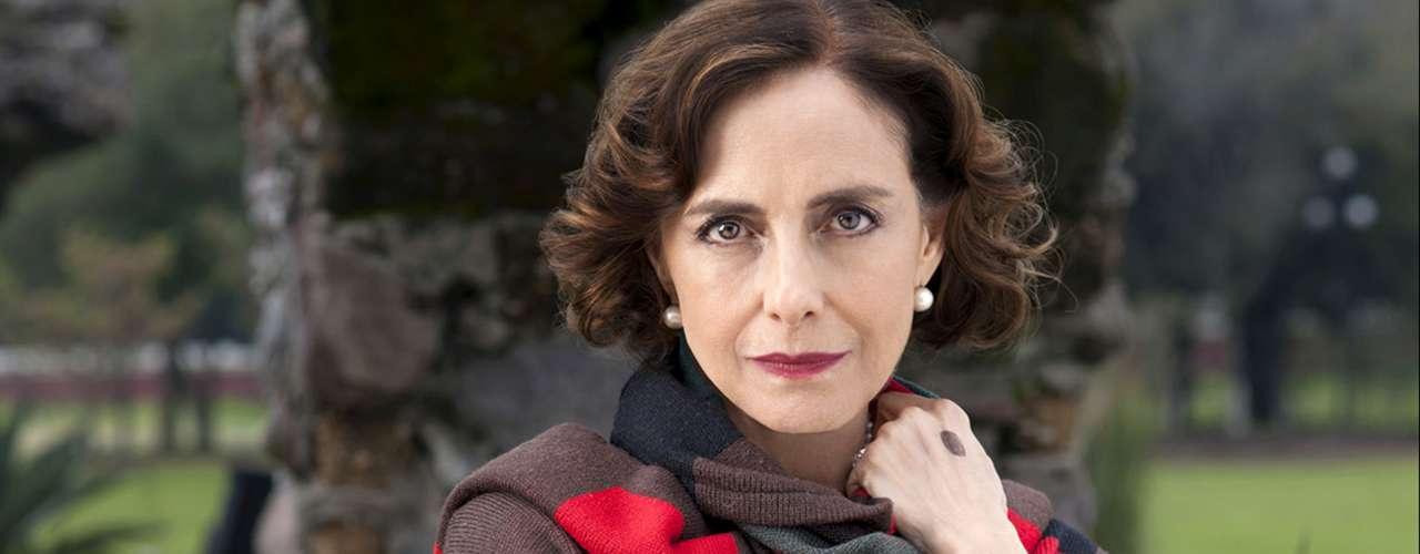 Diana Bracho pone su talento como 'Lucrecia'.