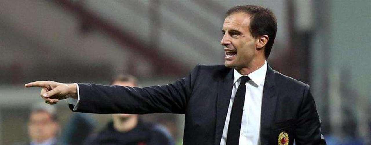 Massimiliano Allegri, técnico del AC Milan