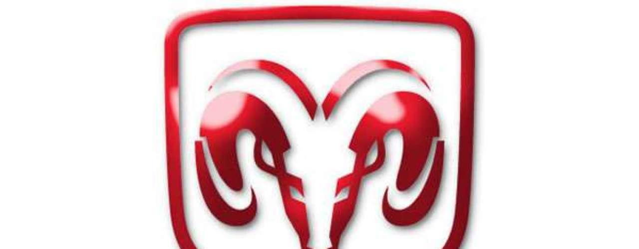 Dodge. El logo actual fue incorporado a finales de los 90´s y representa un carnero. Este Carnero de Dodge, apareció primero como un ornamento de capucha a principios de 1930 sobre algunos camiones y fue introducido en los autos hasta 1954.