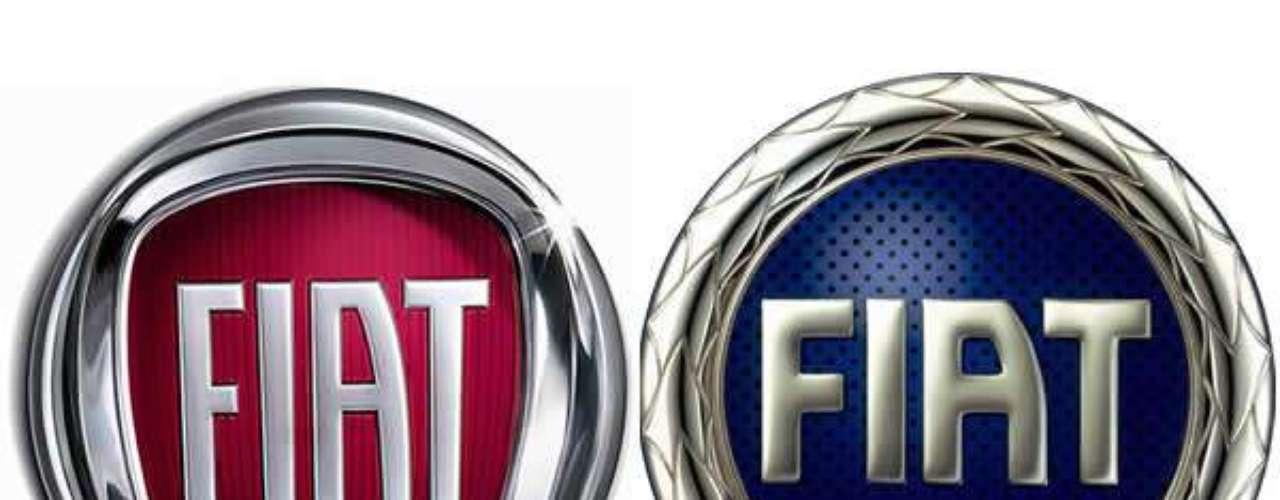 Fiat. El primer logo utilizado fue el diseño de cinco barras en 1982, que fue sustituido posteriormente por el logo que desarrolló el jefe de diseño de Fiat, Mario Maioli, en donde insertó cada una de las letras del nombre de la marca entre los espacios de las cinco barras.