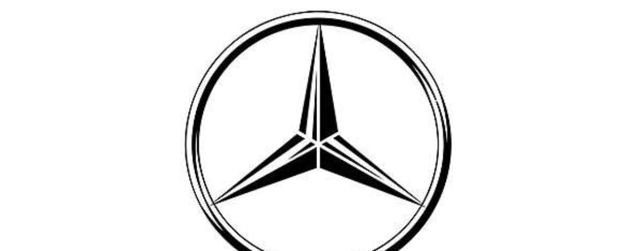 Mercedes-Benz. La estrella nació cuando el ingeniero Daimler marcó sobre una foto de las instalaciones, una estrella indicando que de allí saldría la prosperidad de su familia. Posteriormente la estrella de tres puntas que fue introducida, representa su dominio sobre aire, mar y tierra.