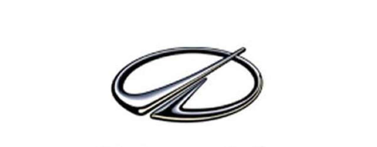 Oldsmobile.En 1995 se rediseñó como un cohete abstracto despegando en ángulo hacia el cielo y el logo simboliza el renacimiento y la herencia de los Oldsmobile.