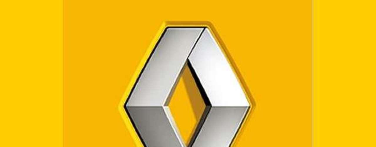 Renault. El logo inicialmente fue un adorno puesto frente a la bocina del auto y adquirió la forma de diamante en 1924.