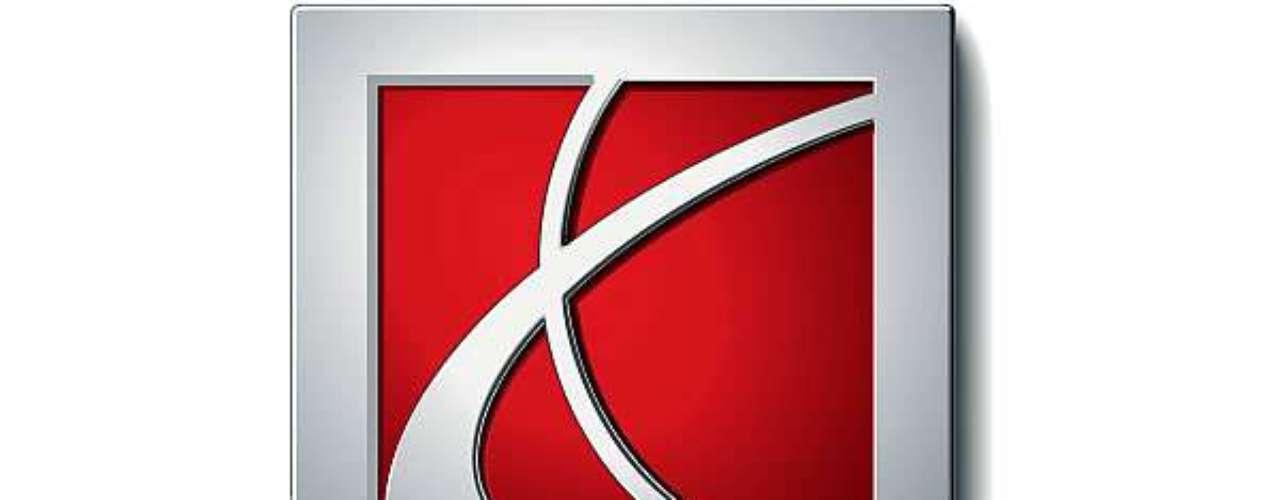 Saturn. El logo simboliza una estilizada interpretación del planeta con sus anillos, en un diseño bastante moderno.