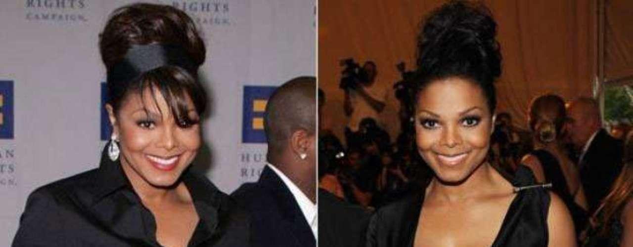 Aunque se había caracterizado por poseer una figura casi perfecta, Janet Jackson tuvo problemas de peso a finales del 2005. Le tomó cuatro meses bajar de peso y lo logró comiendo saludable y haciendo ejercicio.