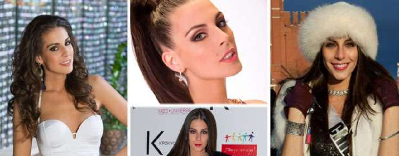 Glamorosa y muy sofisticada otra latina de ensueño, Miss Chile, María Jesús Matthei Molina. Tiene 21 años de edad y reside en Santiago.