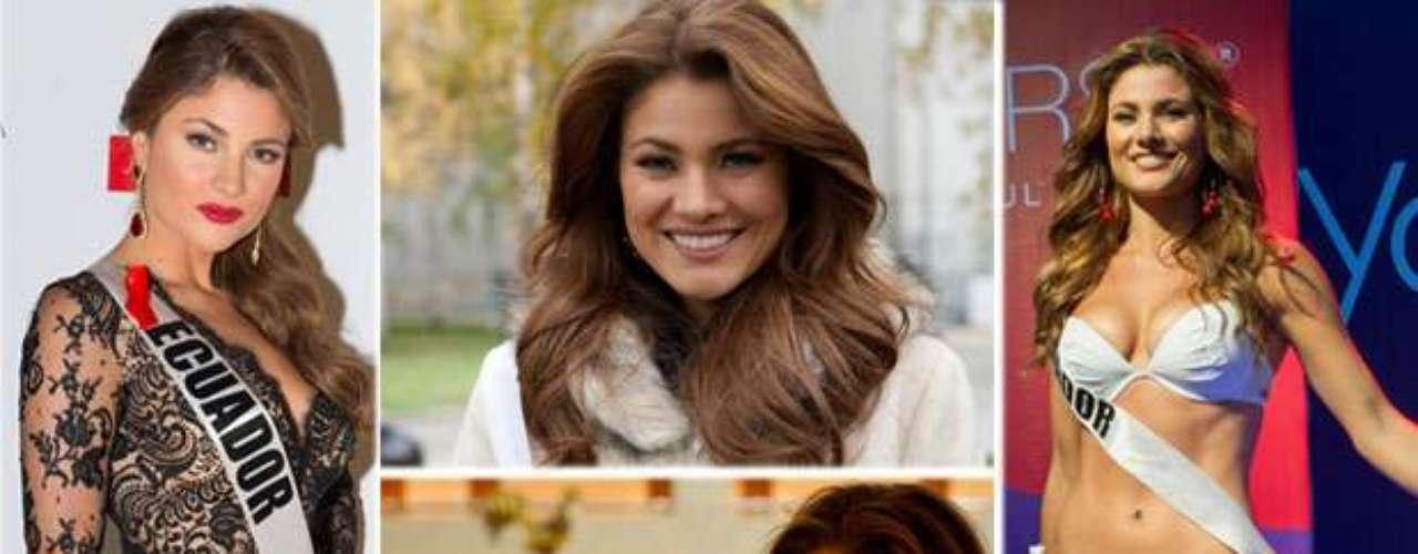 Su belleza se debate entre lo salvaje y tierno. Una mujer sensual y muy exótica es Miss Ecuador, Constanza María Báez Jalil. Tiene 22 años de edad y reside en Quito.