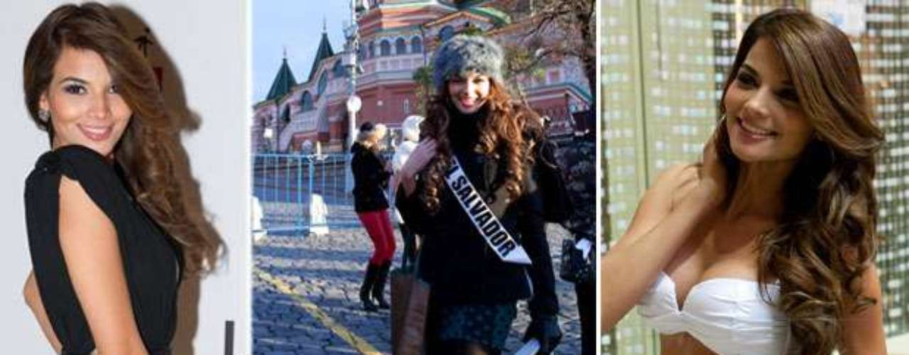 Una espléndida belleza latina es Miss El Salvador, Alba Maricela Delgado Rubio. Tiene 22 años de edad y reside en San Salvador.