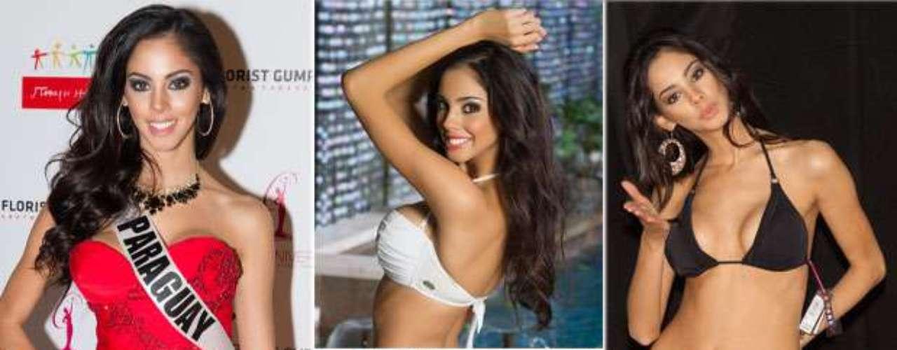 Impactante Miss Paraguay, María Guadalupe González Talavera. Tiene 21 años y reside en Lambaré.