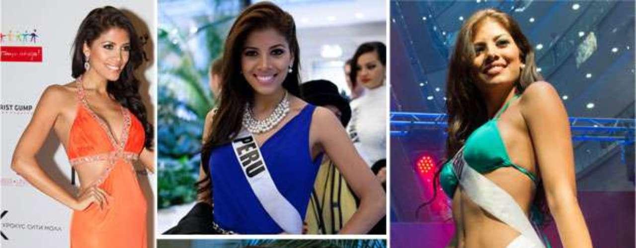 Sexy y cautivadora Miss Perú, Cindy Paola Mejía Santa María. Tiene 26 años de edad y reside en Lima