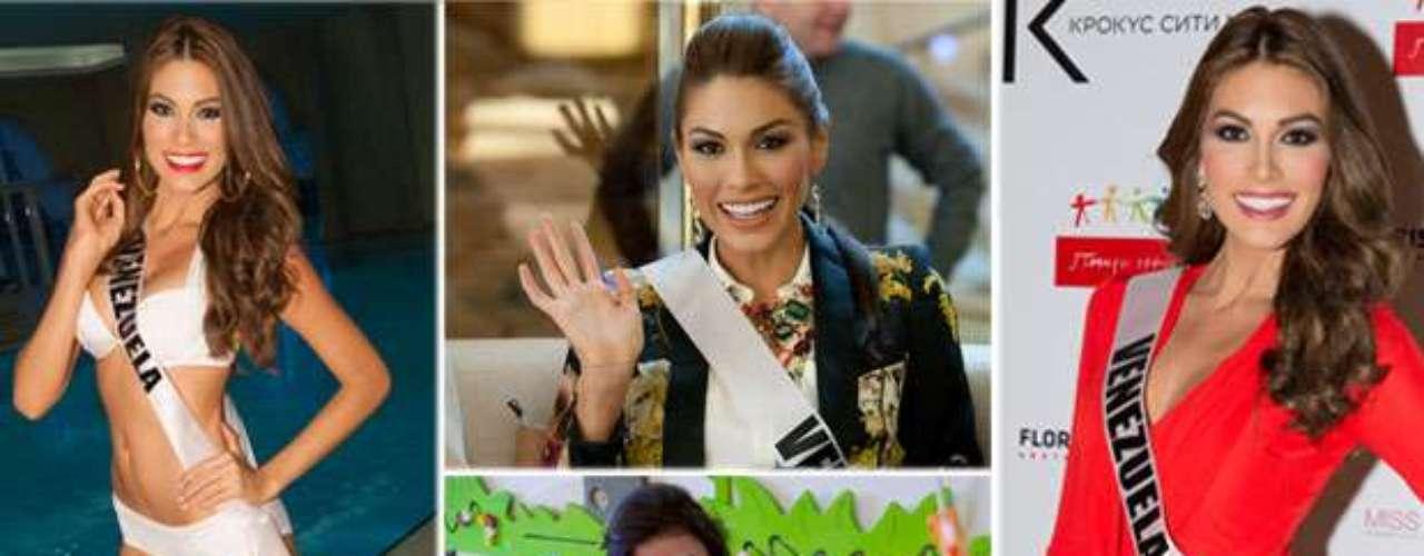 Como toda una reina luce Miss Venezuela, María Gabriela de Jesús Ísler Morales. Tiene 25 años de edad y reside en Maracay