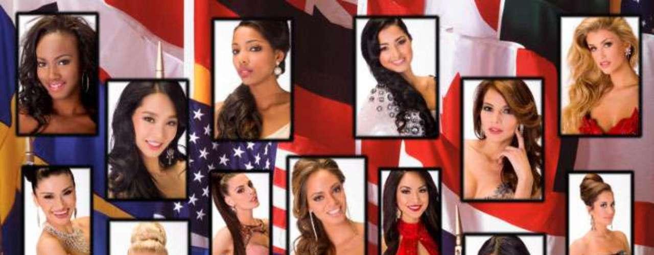 Todas las candidatas al certamen de Miss Universo, honradas de sus nacionalidades decidieron sacar pecho y hacer gala de uno de sus más vistosos símbolos patrios, sus banderas, así se vio cada una de ellas.