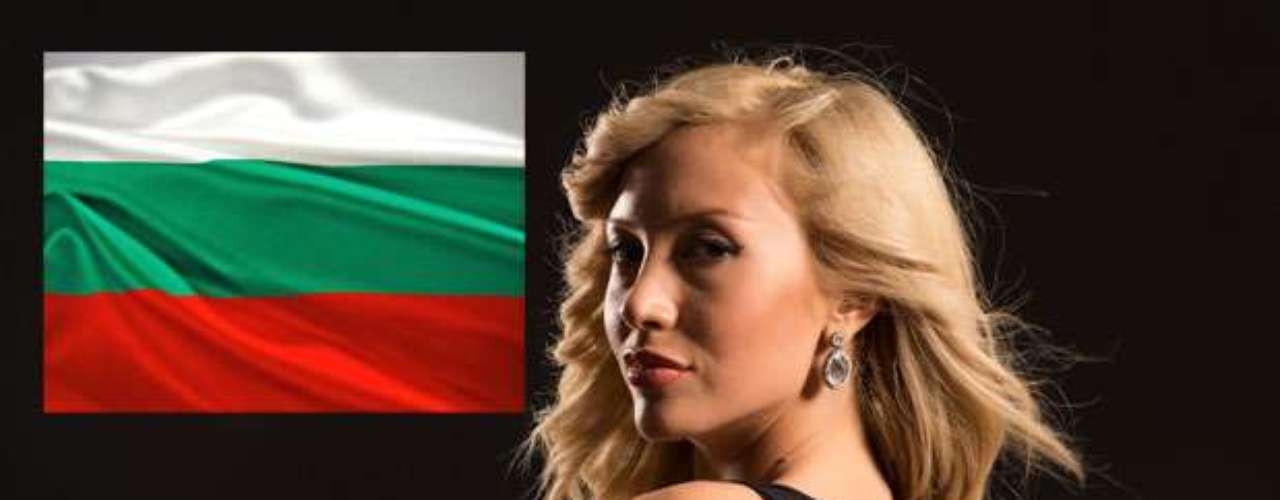 Miss Bulgaria - Veneta Krsteva. Tiene 21 años de edad, mide 1.76 m (5 ft 9 12 in) y reside en Sofía