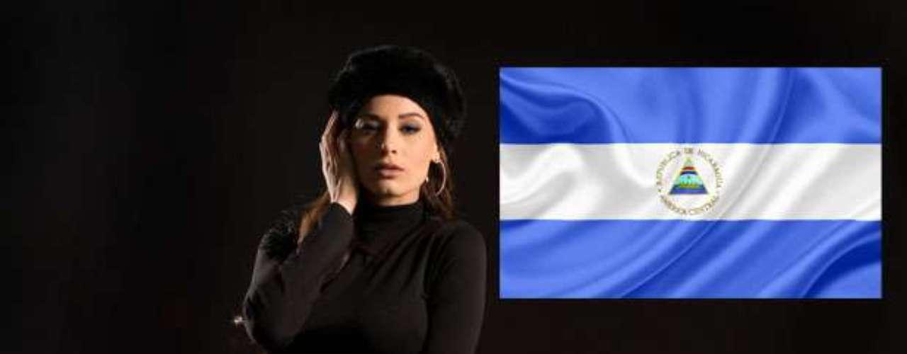 Miss Nicaragua - Nastassja Bolívar. Tiene 24 años de edad, mide 1.75 m (5 ft 9 in) y procede de Diriamba.