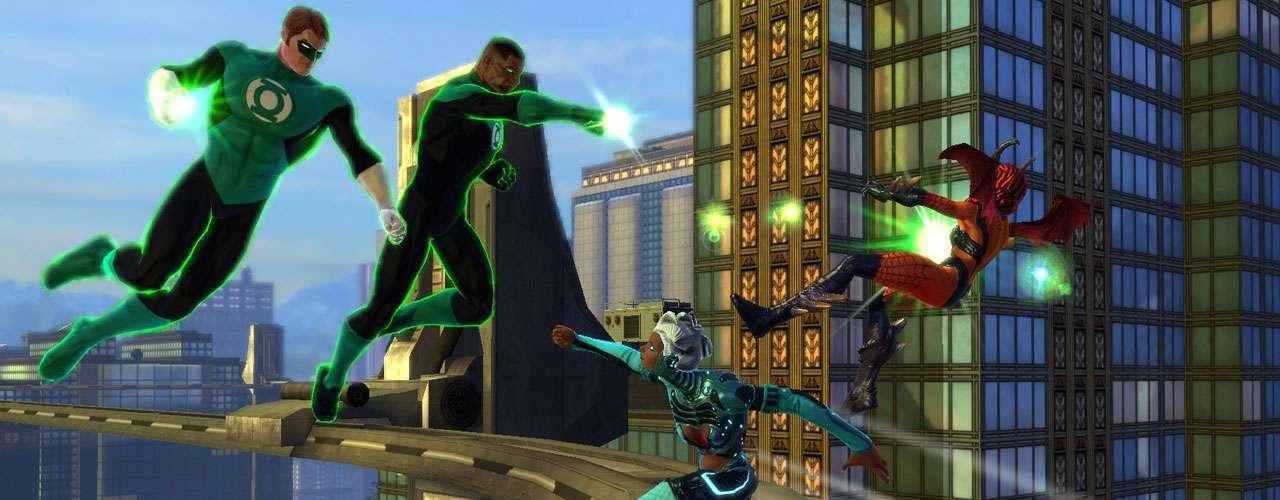 DC Universe Online Esta reinterpretación del universo de los héroes de la casa editora DC propone una línea del tiempo alterna en donde las épicas batallas entre superhombres y extraterrestres arrasaron con Metrópolis y vulneraron el planeta del inminente ataque de Brainiac. Para detener esto, Lex Luthor deberá reclutar a sus antiguos adversarios