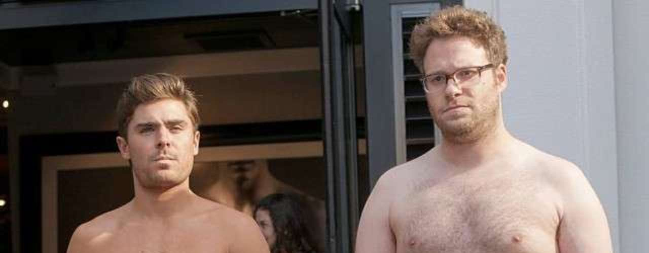 Como dice Zac Efron, ya sean o no sean fans de Kanye West, los fans del video Bound 2 seguro se divertirán con esta nueva parodia, fotográfica en este caso, protagonizada por el guapo Efron y.... bueno, Seth Rogen.