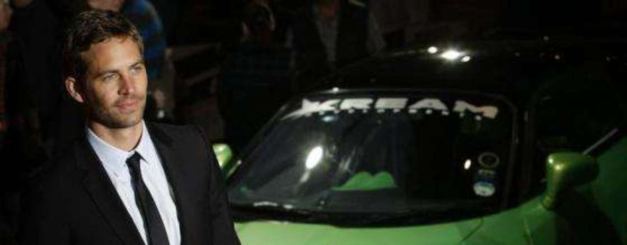 Paul en la premiere de 'Fast and Furious' en Leicester Square, Londres. Marzo 19 de 2009.