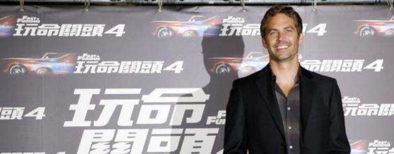 Walker en una conferencia de prensa de 'Fast and Furious 4' en Taipei. Abril 14 de 2009.