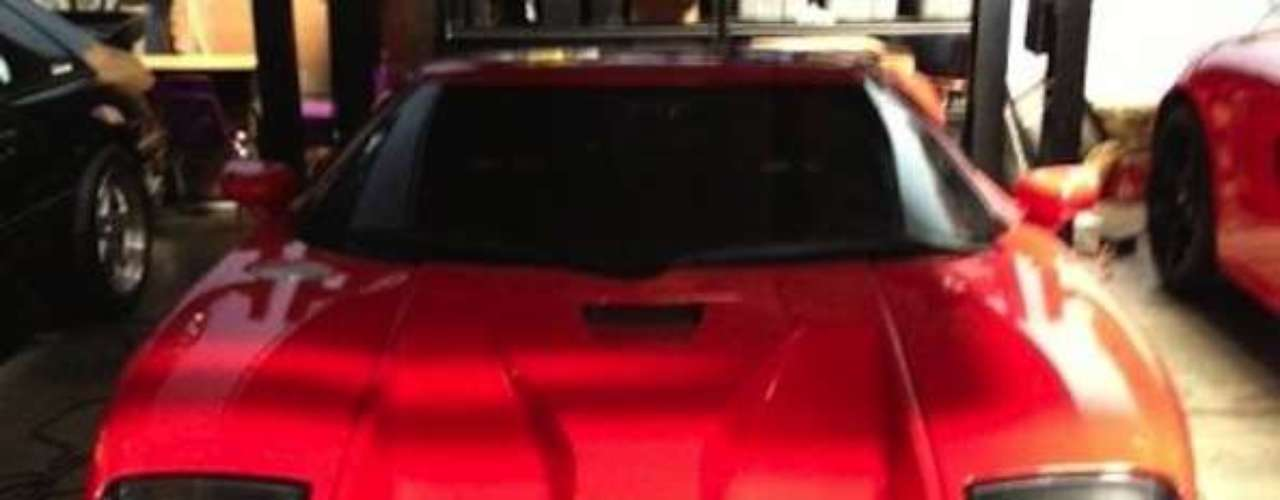 El Ford GTde Paul Walker. Otro bólido utilizado en la serie de películas porPaul.