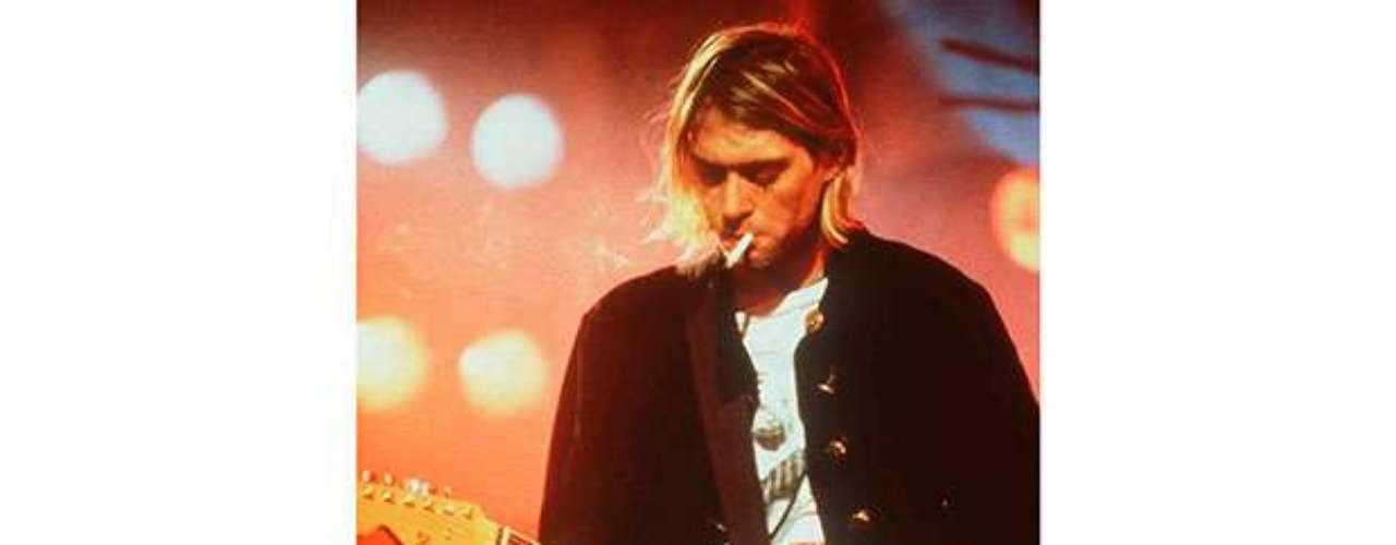 Su adicción a la cocaína se baraja como posible causa delsuicidio Kurt Cobain con tan solo 27 años