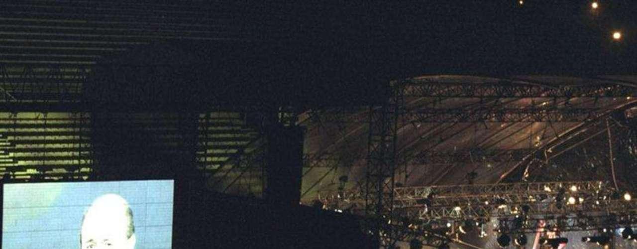 En el estadio de Marsella se hizo el sorteo para Francia 98