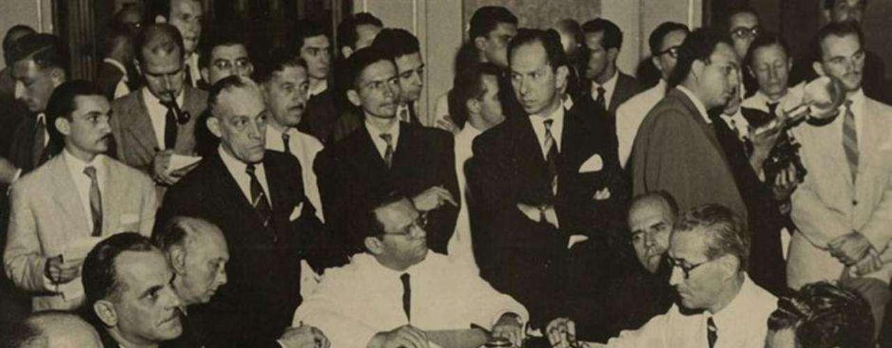 Sorteo final en 1950