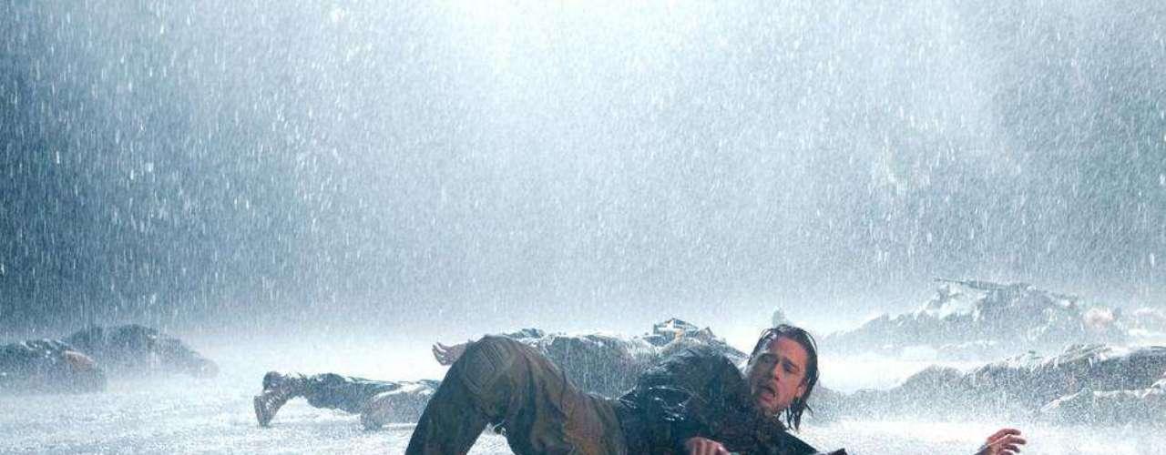 La historia de zombies que protagoniza Brad Pitt,World War Z recaudó$202.4 millones de dólares