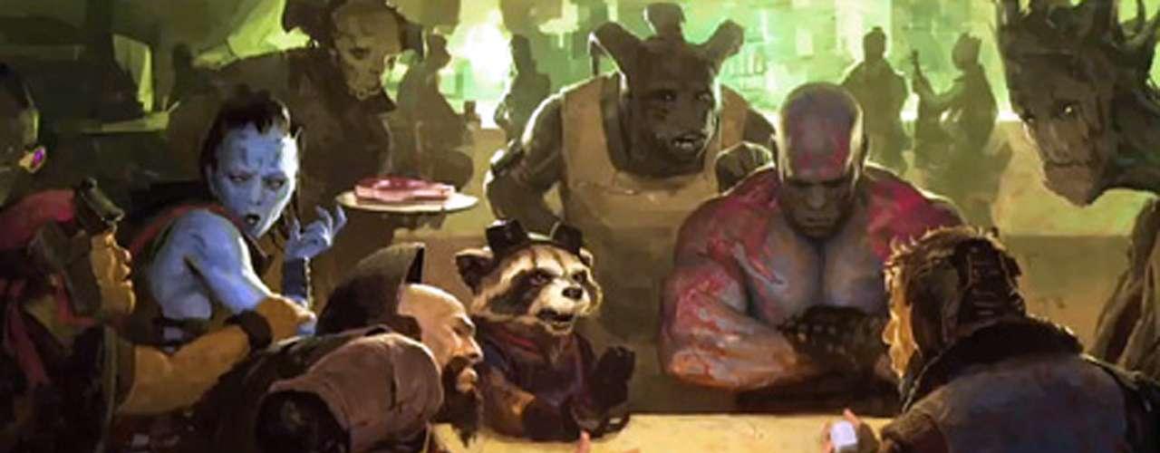 'Guardianes de la Galaxia' - Para seguir expandiendo el dominio del universo cinematográfico Marvel, y por si acaso 'Los Vengadores' no fueron suficientes, es el turno de un nuevo grupo de justicieros, sólo que estos sí se pasan todo el tiempo en el espacio.Fecha de estreno en México: Agosto 8, 2014.
