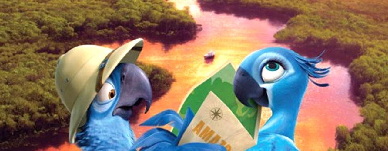 'Río 2' - 'Blu', 'Jewel' y sus tres pequeñitas crías aprenden a llevar una vida libre en la jungla del Amazonas, pero las aventuras y desventuras apenas comienzan.Fecha de estreno en México: Abril 11, 2014.