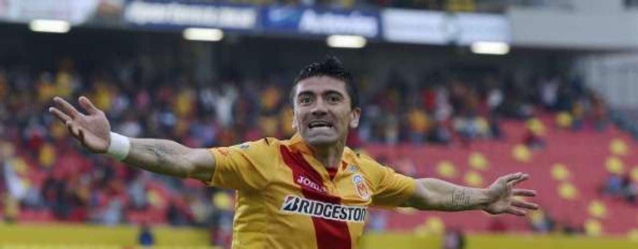 Héctor Mancilla: el ariete criollo ya tuvo un paso por Colo Colo en 2006 y, si bien tiene contrato hasta 2016 con Monarcas de Morelia, estaría interesado en dejar México para fichar por el Cacique.