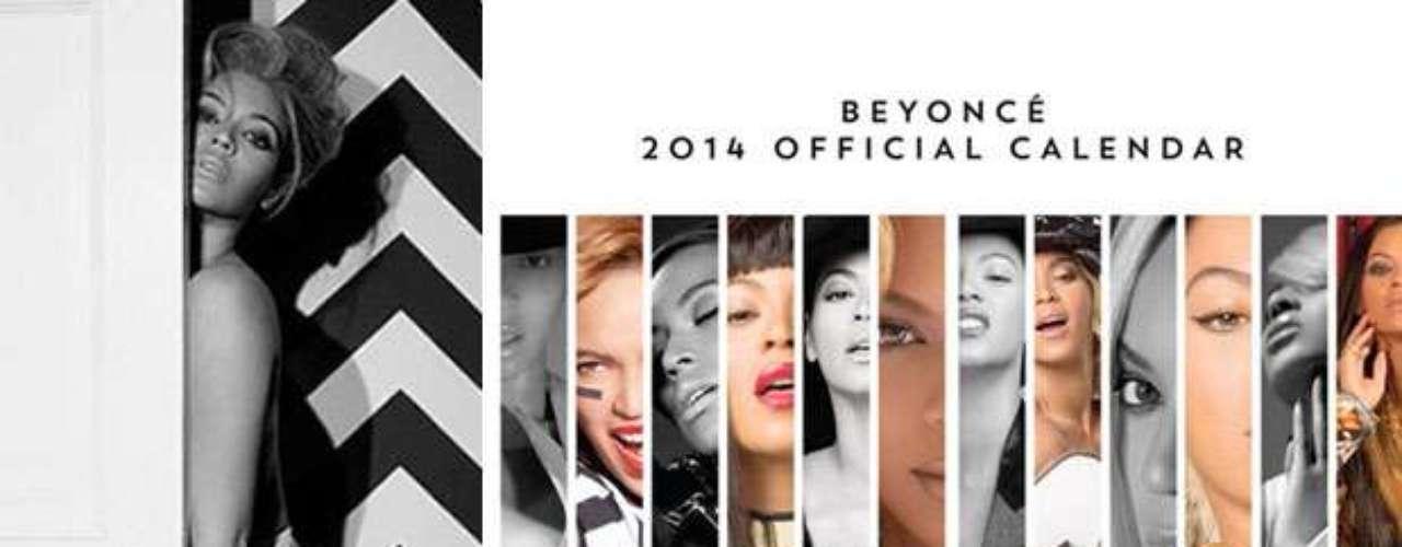 Beyoncé es una de las famosas que ha programado su propio calendario 2014. Ella lo anunció diciendo en su página de Facebook: \