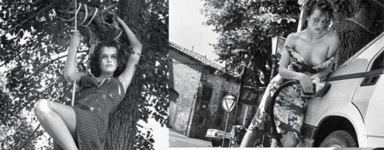 Uno de los calendarios más esperados del año es el de Pirelli, que rescata las imágenes inéditas realizadas en el verano de 1986 por el fotógrafo Helmut Newton. Tomas enblanco y negro cargadas de sensualidadcon modelos semidesnudas o vistiendo trajes ajustados, como era característico en el fallecido artista.