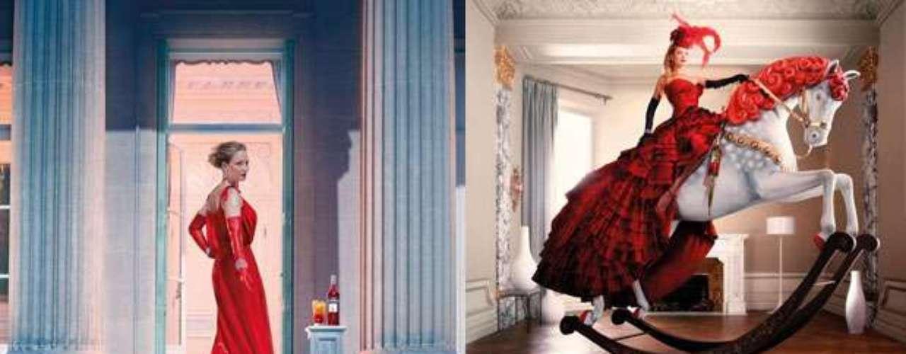 Otra de las celebridades que protagoniza un calendario para el año próximo es Uma Thurman,quien, bajo el lente experto de Koto Bolofo, protagoniza un viaje en 12 fotografías por las festividades más importantes alrededor del mundo.