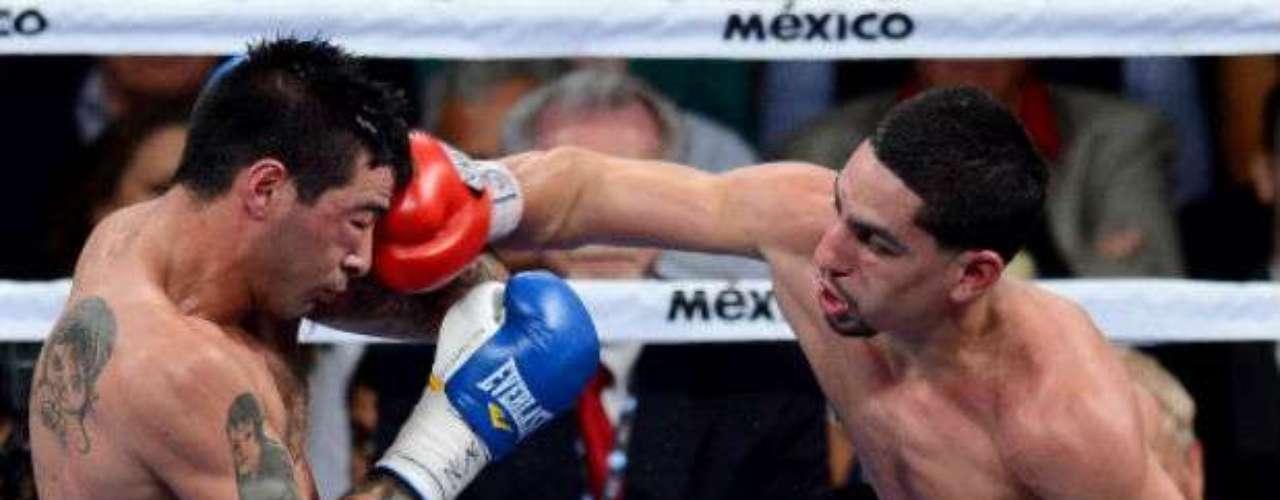 Danny Garcia (derecha) y Lucas Matthysse podrían protagonizar su segunda pelea en el 2014. Garcia también podrían pensar en subir de división para enfrentar a Floyd Mayweather.