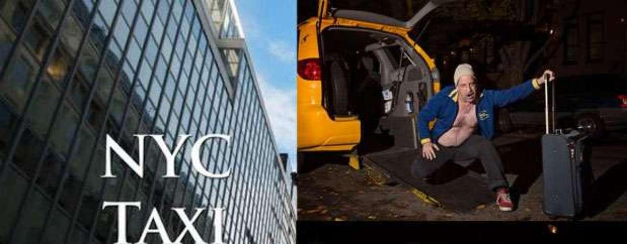 Para no quedarse atrás los taxistas de la ciudad de Nueva York han hecho \