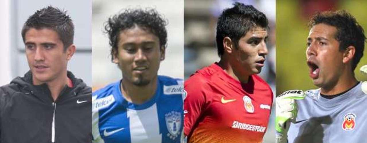 Atlas se reforzó con los jugadores Darvin Chávez de Monterrey, Jorge Gastelum de Pachuca, Enrique Pérez e Higinio Bucio, ambos de Morelia