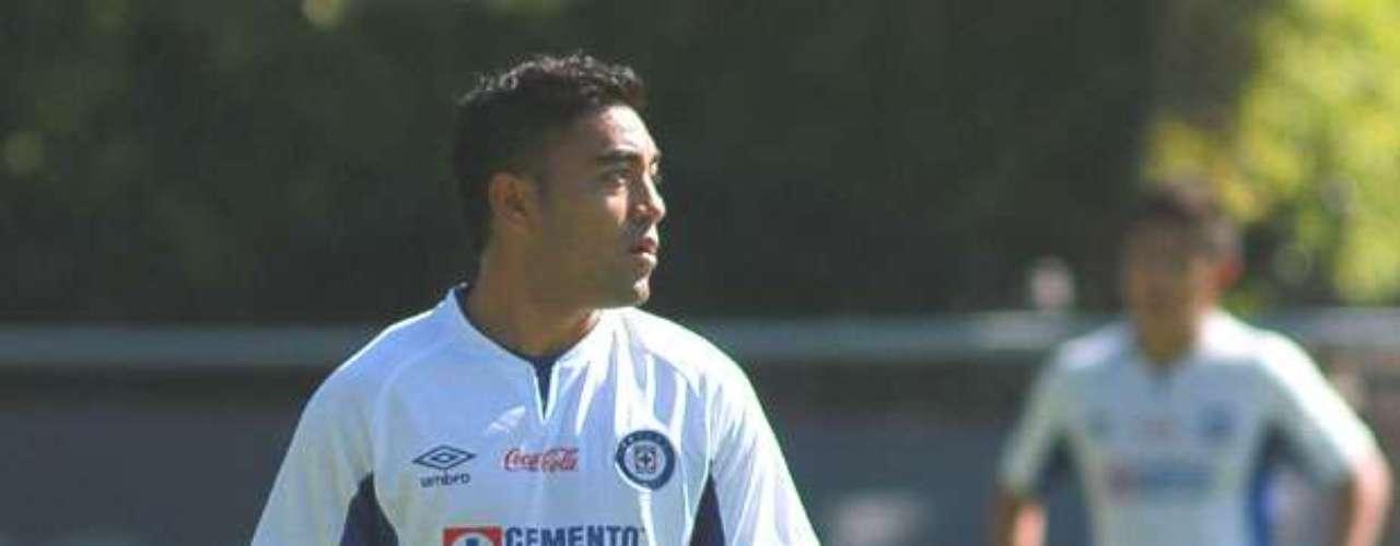 Marco Fabián se nuevo jugador de Cruz Azul