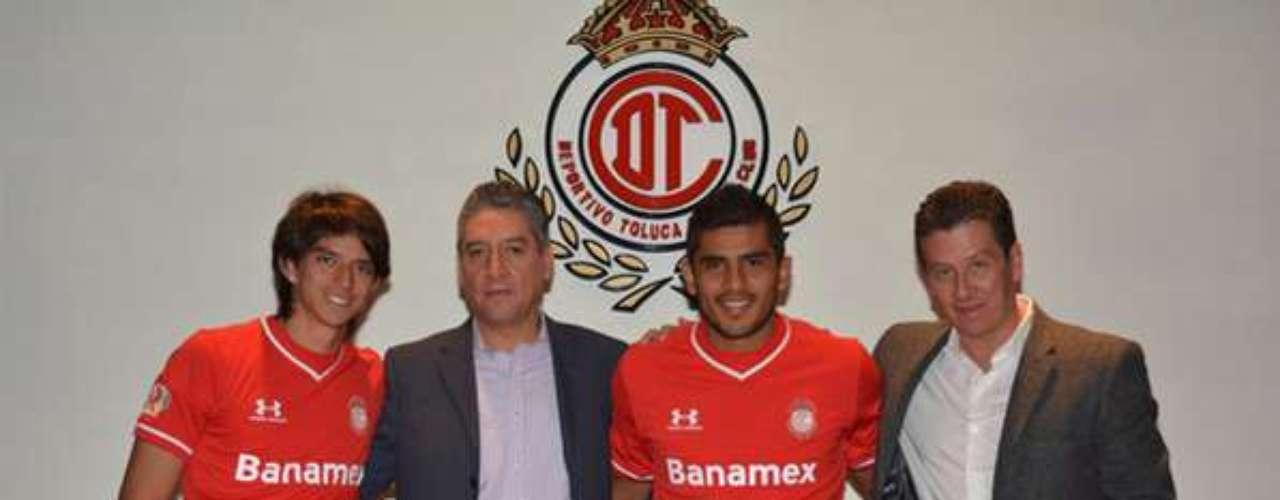 Emilio Orrantia y Miguel Ángel Ponce pasaron a las filas del Toluca