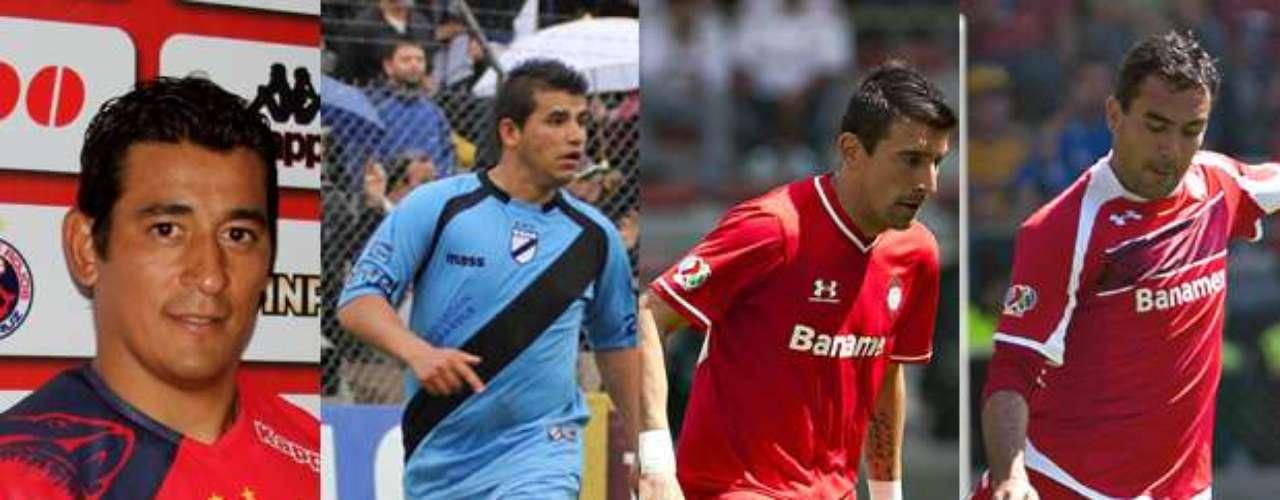 Los nuevos jugadores de Veracruz son Alfredo Moreno, Daniel Quiñonez, Edgar Benítez y Edgar Dueñas
