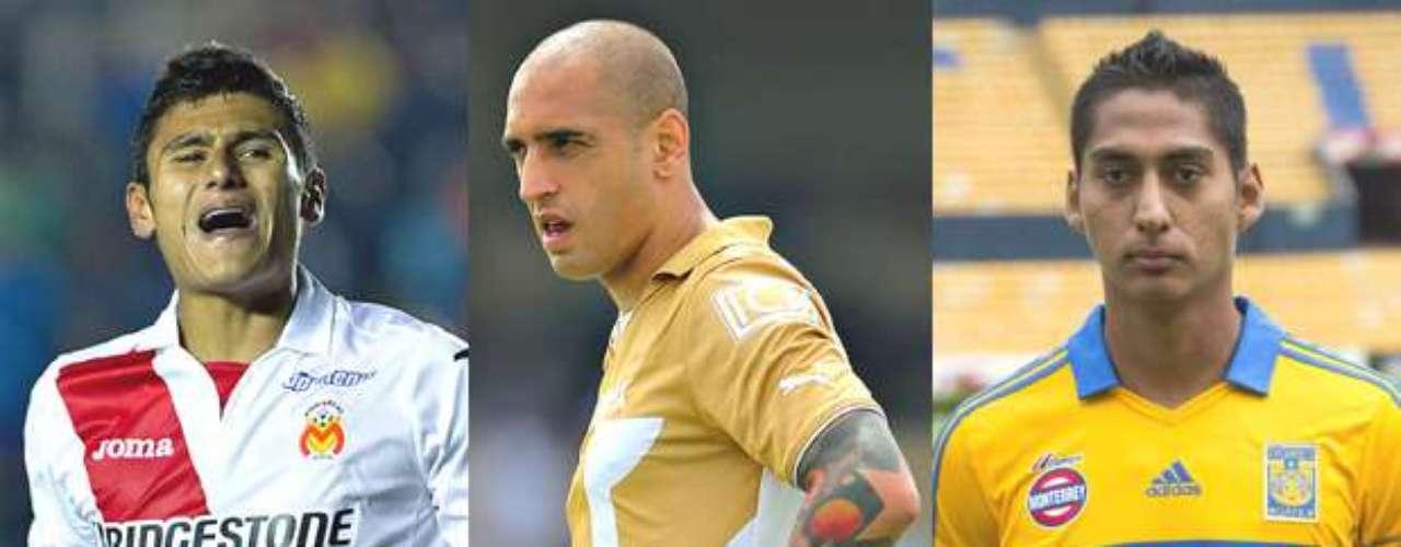 Edgar Andrade, Ariel Nahuelpán y Hugo Rodríguez también son nuevos jugadores de los Tuzos del Pachuca