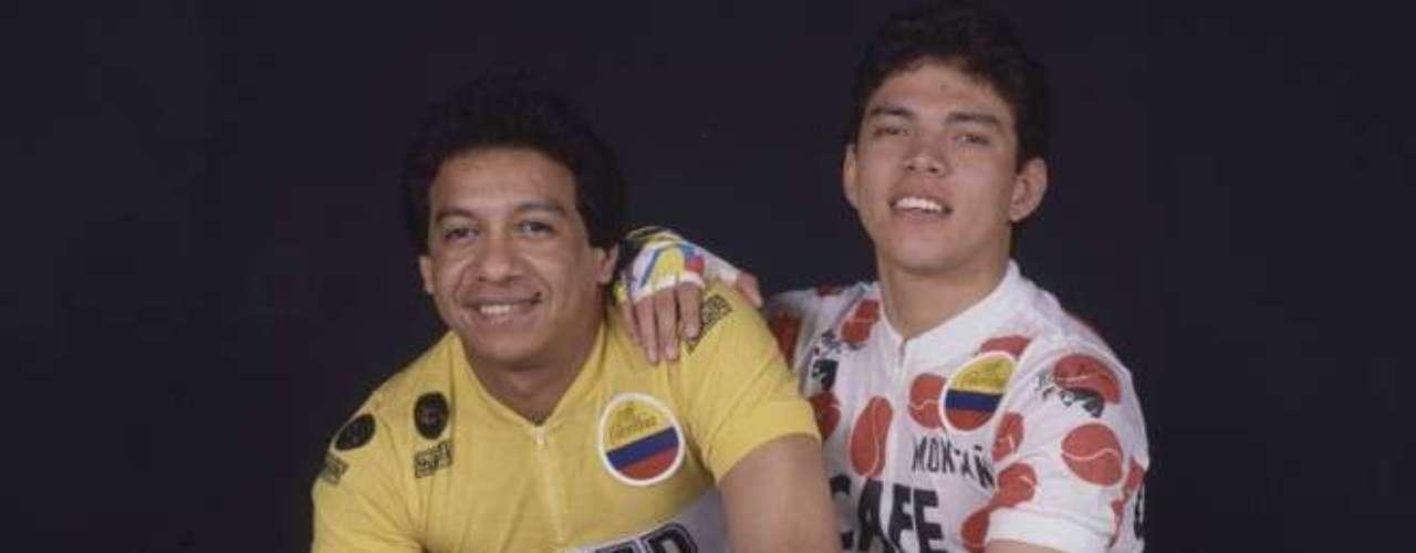 Diomedes Díaz y El Cocha Molina en 1987.