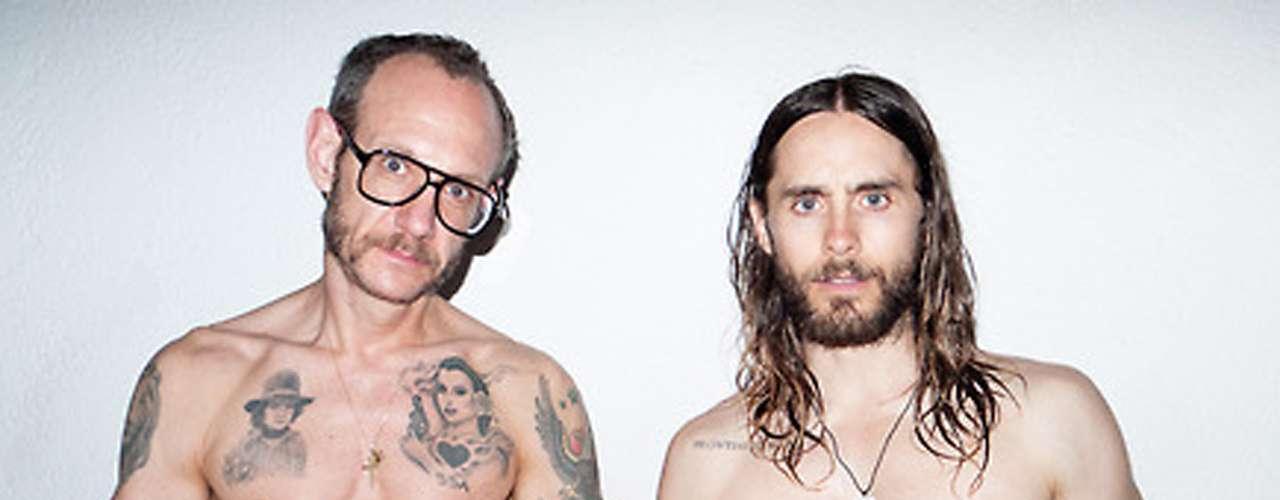 Aquí posan Terry y Jared en una más de sus aventuras.
